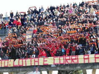 Benevento Calcio. Tifosi giallorossi