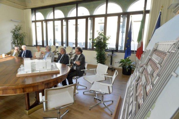 Presentazione Progetto Biblioteca di Ateneo di Trento di Renzo Piano - foto tratta da archiportale.com