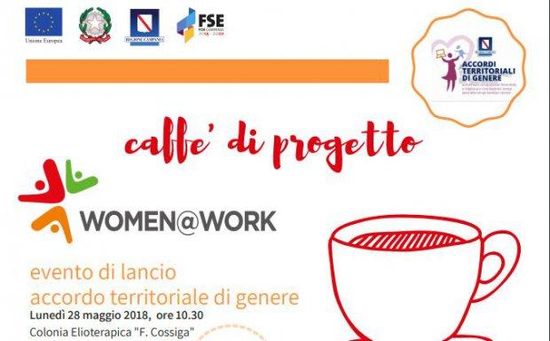Caffe Di Progetto A Benevento Il Lancio Di Women At Work