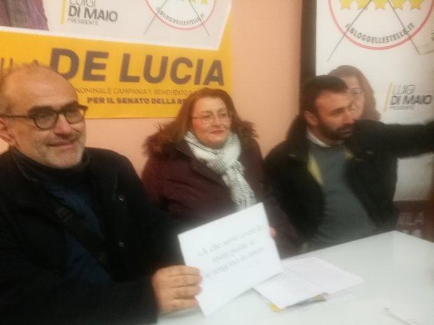 Danila De Lucia, candidata al Senato per il Movimento 5 Stelle
