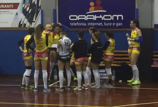 Accademia Volley perde il derby contro il Real Volley Napoli