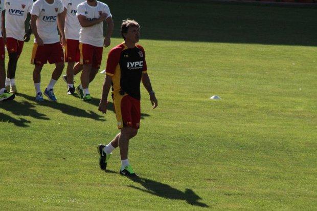 Marco Baroni allenatore Benevento Calcio