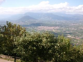 Panoramica della Valle Telesina
