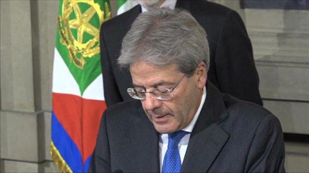 Paolo Gentiloni, presidente Consiglio dei Ministri