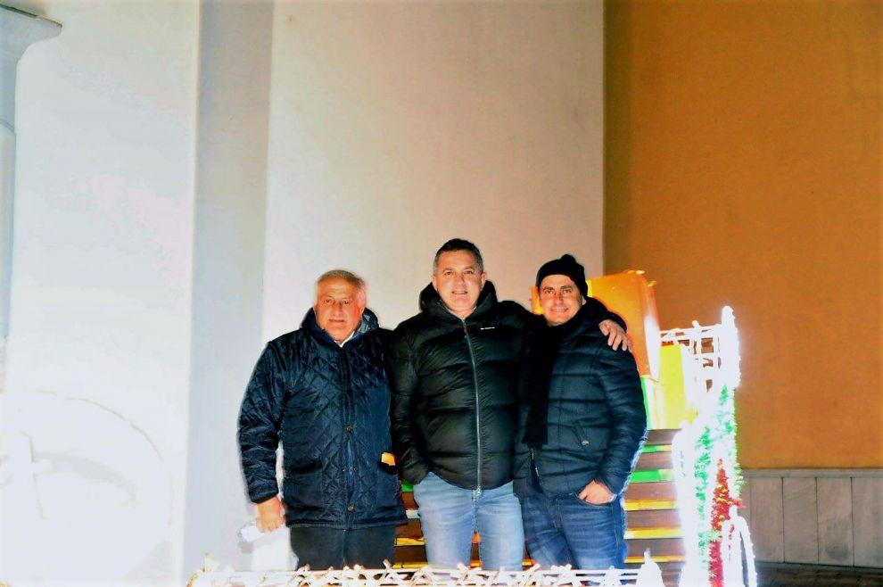 Mario Sagnella, Michele Giamattei, Alessio Verna