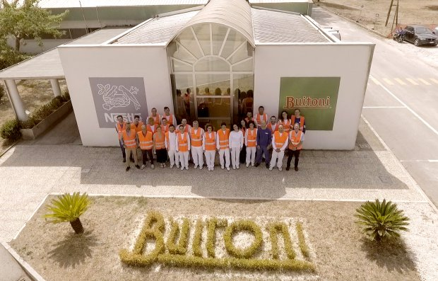 Il Team del Progetto Hub della Pizza della Buitoni di Benevento