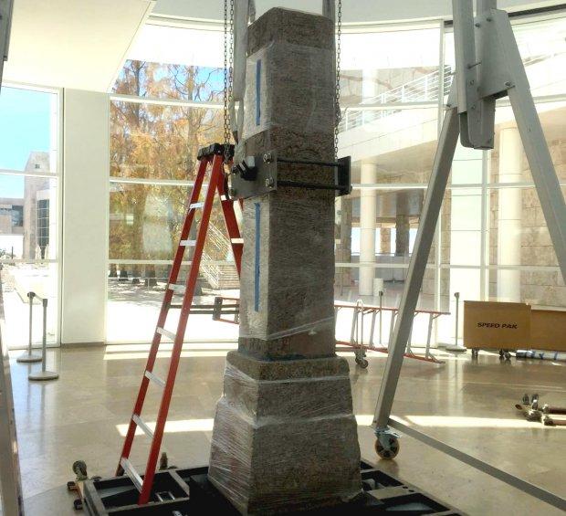 Obelisco del Tempio della dea Iside di Benevento al Paul Getty Museum di Los Angeles