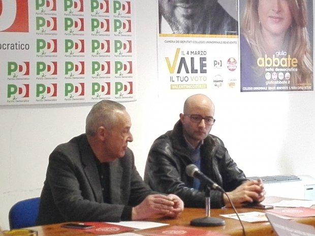 Umberto Del Basso De Caro e Giovanni De Lorenzo