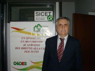 Giovanni Zanone, segretario provinciale Sicet