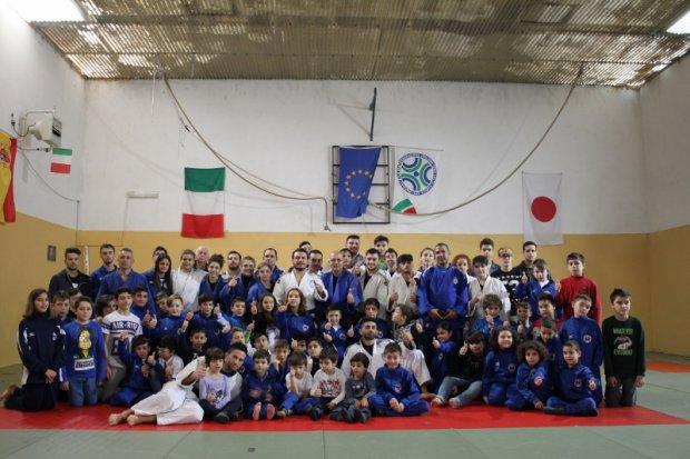 Fiamme Azzurre Judo a Telese Terme