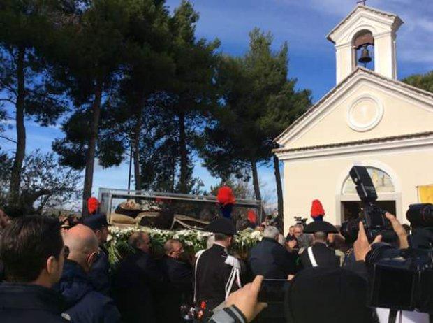 Padre Pio di nuovo a Pietrelcina. L'arrivo a Piana Romana