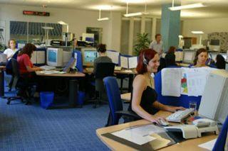 Call center (foto di archivio)