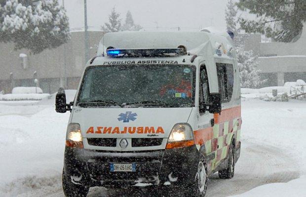 Ambulanza neve