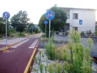 La pista ciclopedonale 'Paesaggi Sanniti'