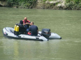 Le ricerche nel fiume Volturno