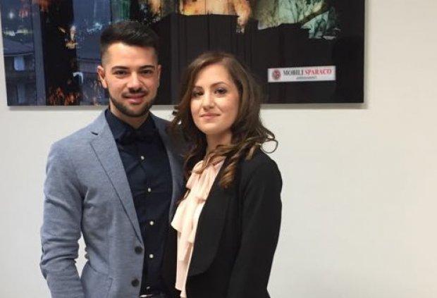 Giuseppe Falco e Ilaria Iannucci