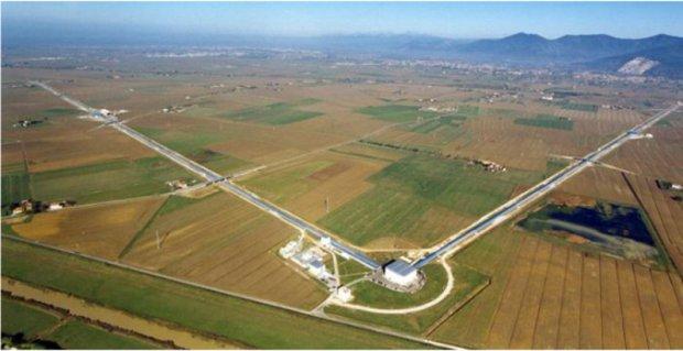 L'antenna Virgo