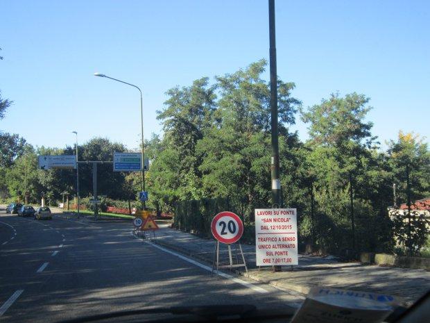 Benevento. Lavori al Ponte San Nicola