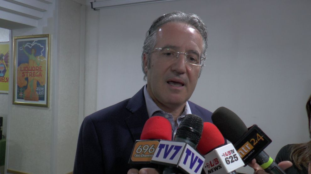 Vicenda Amts, conferenza stampa Fausto Pepe