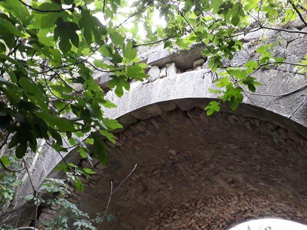situazione di uno dei ponti sulla ex S.S. 87 Sannitica