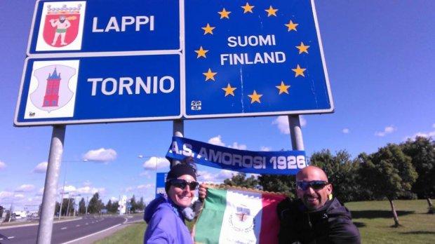 Giuseppe e Giovanna in Finlandia