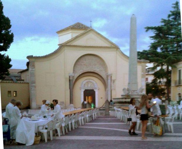 Cena in bianco a Benevento (2016)