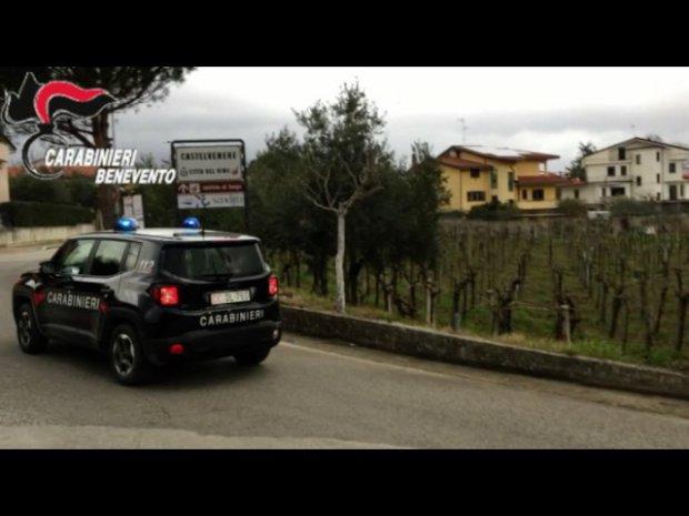 Operazione San Filippo. Taglieggiati viticoltori della valle Telesina (Benevento)