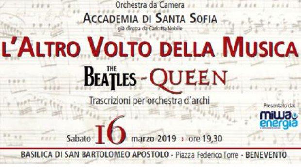 """Benevento. """"The Beatles Queen - L'Altro Volto della Musica"""""""