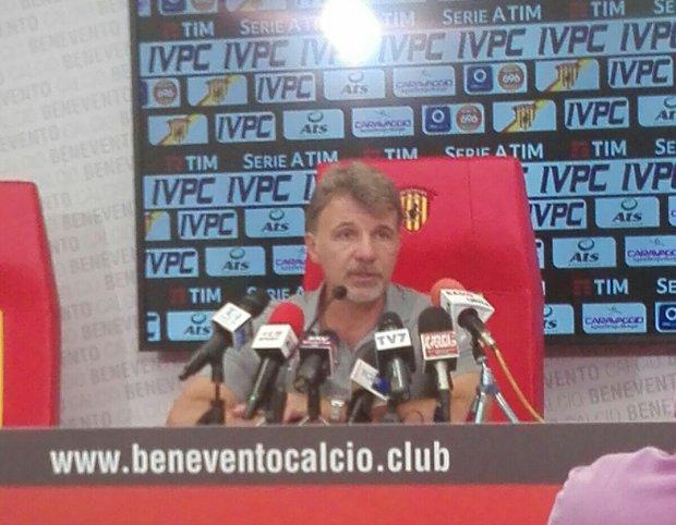 Marco Baroni, allenatore del Benevento