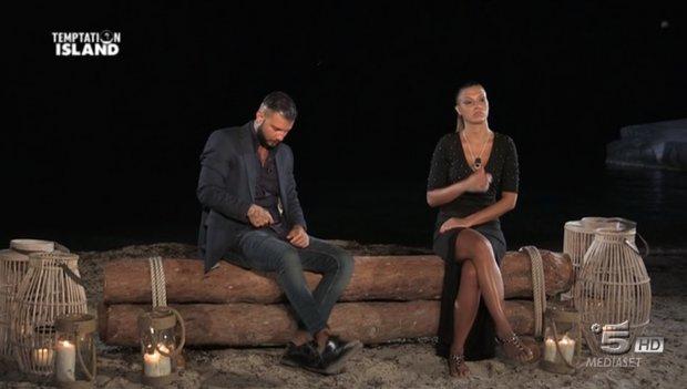 Temptation Island - L'incontro tra Flavio e Roberta