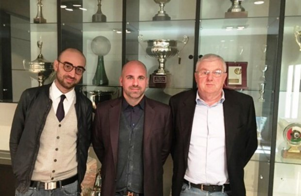 Antonino Trotta (Benevento), Alberto Toso (Cittadella), Umberto Sabattini (Spal 2013). Foto: LegaPro