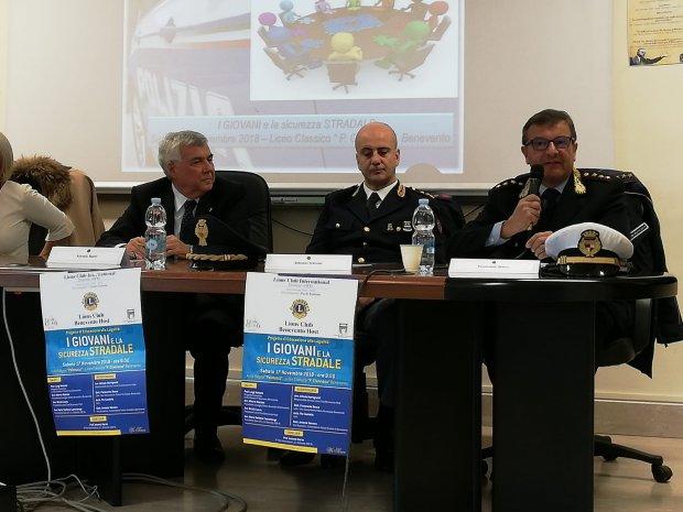 I Giovani e la Sicurezza stradale. Incontro al Liceo Classico P. Giannone di Benevento