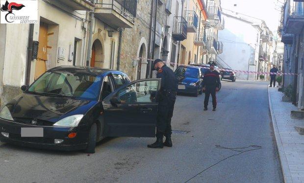 San Bartolomeo in Galdo. Intervento degli Artificieri dei Carabinieri (24 maggio 2019)
