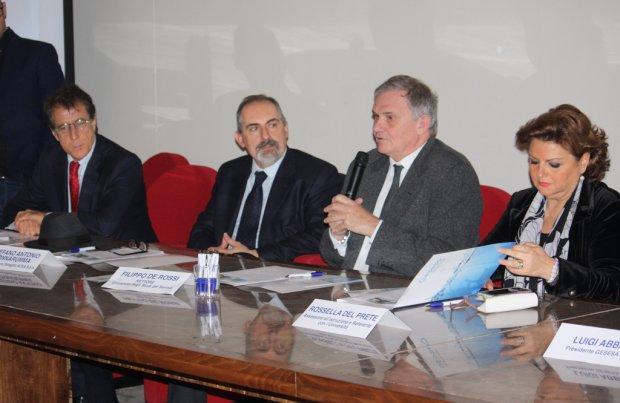 Unisannio - Gesesa, presentazione Corso servizio idrico integrato