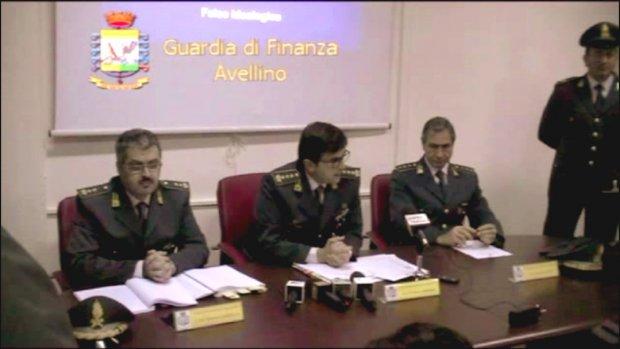 Avellino. Guardia di Finanza