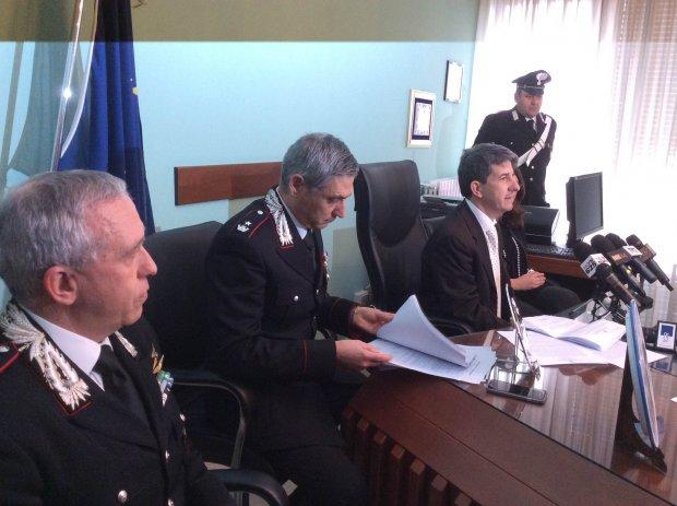 Operazione 10%. Conferenza stampa alla Procura di Benevento
