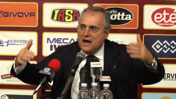 Claudio Lotito, patron della Salernitana