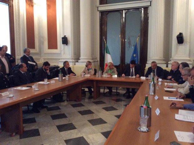 Ministro Martina a Benevento