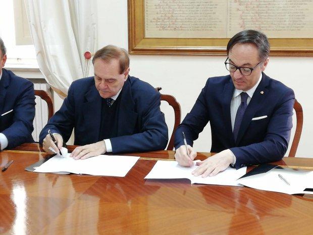 Firma del protocollo tra il Comune e il Consolato della Federazione Russa