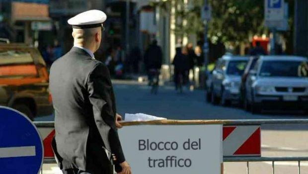 blocco traffico foto: correttainformazione