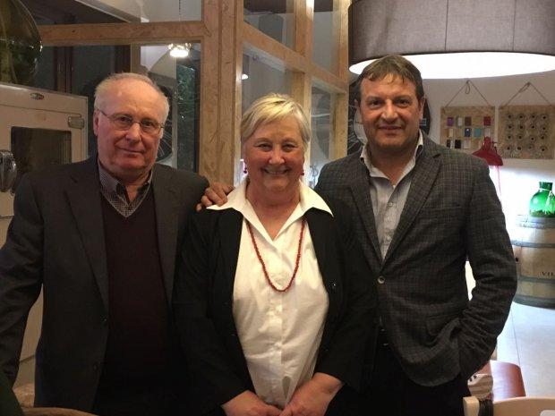 Festa di pensionamento per Silvana Della Contrada, ex-dipendente del comune di Melizzano