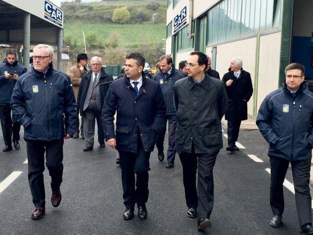 Enzo Rillo con il presidente ANAS