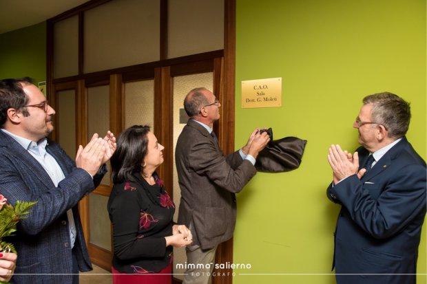 Intitolata la sala della Commissione Albo Odontoiatri a Gianfranco Moleti