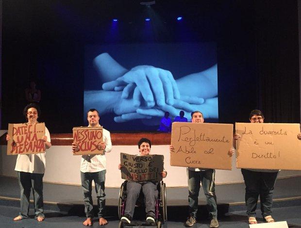 I ragazzi del Centro E' piu' bello insieme al Giffoni Film Festival