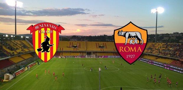 Benevento-Roma, 5^ giornata di serie A