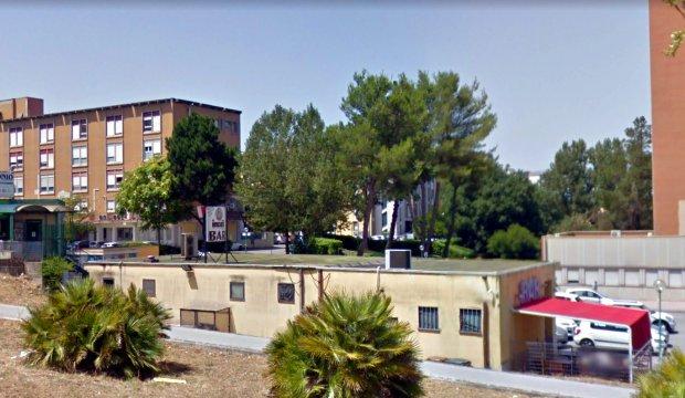 Benevento, incendio nel padiglione di emergenza dell'ospedale: era in ristrutturazione