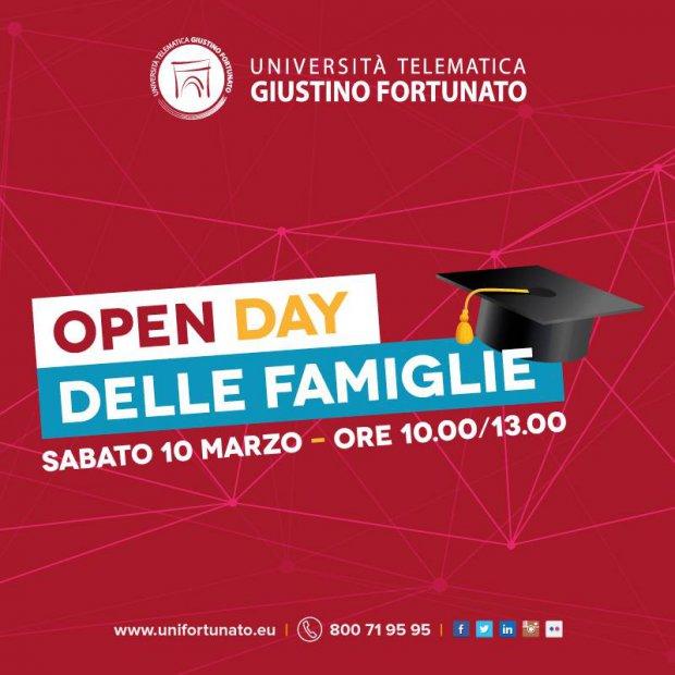 Giustino Fortunato - Open day delle Famiglie
