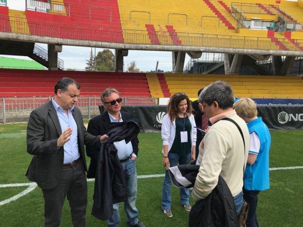 Stadio Ciro Vigorito, effettuato sopralluogo della  FISU