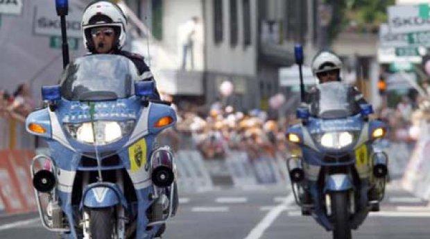 Polizia Stradale al Giro d'Italia