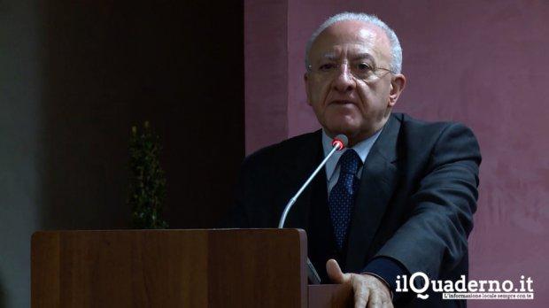 Vincenzo De Luca al Rummo di Benevnto